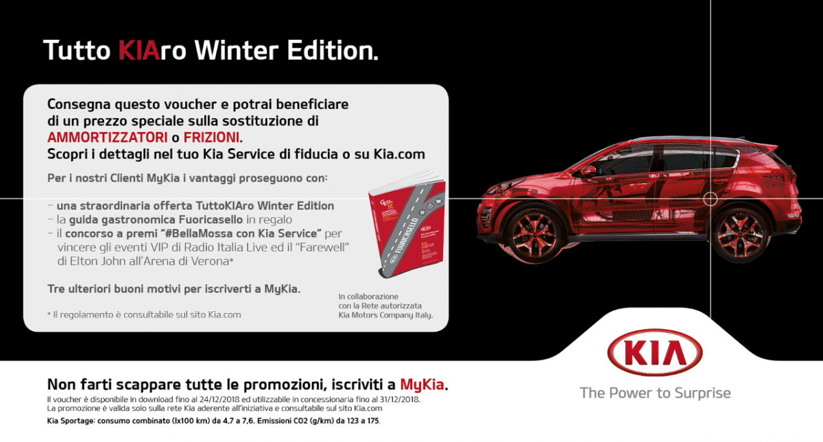 Tutto KIAro Winter Edition